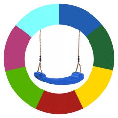 Zmiana koloru siedzisk do huśtawki